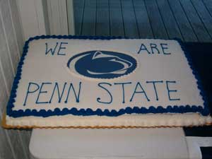 Send Off Party - August 2008 ... Penn State South Jersey Shore Chapter