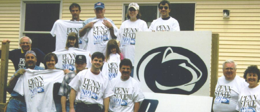 South Jersey Shore Chapter -  Penn State Alumni Volunteer/Service Project with Habitat For Humanity, Cape May County, New Jersey (1989)